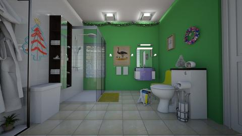 Simple_4 - Bathroom - by Tupiniquim
