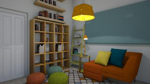 1016 - Living room - by Riki Bahar Elbaz