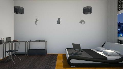 Projeto Paola Gato - Modern - Bedroom - by Paola ApMoura