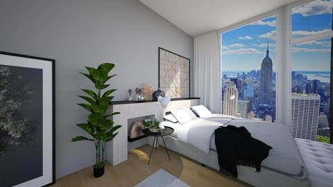 NY apartment - Bedroom - by heddam2508