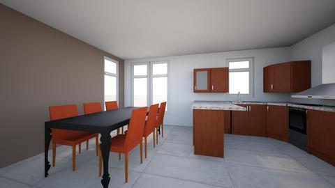 Keuken nieuwe huis - Kitchen - by Sandra_1972