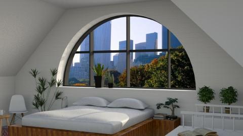 Attic Space - Modern - Bedroom - by Musicman