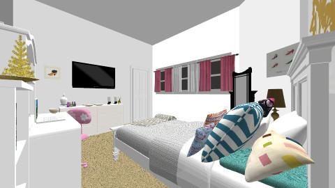 Teen Bedroom - Bedroom - by jasmine07