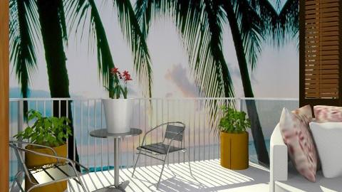Beach View - Garden - by Rachel Elizabeth