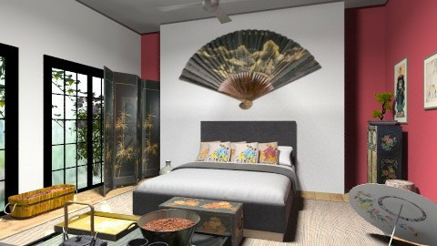 chinese bedroom - Modern - by tita