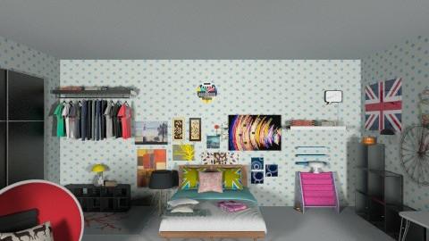MY ROOM - Minimal - Bedroom - by Dazzle Dequilla Azas