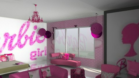 barbie girl - Glamour - Bedroom - by Lizette Najera