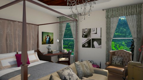 Good morning - Glamour - Bedroom - by anjuska9