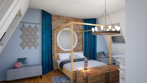 Apartment block - by Emmaxgo