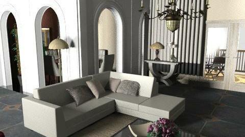 mjuuh - Living room - by repelikeva