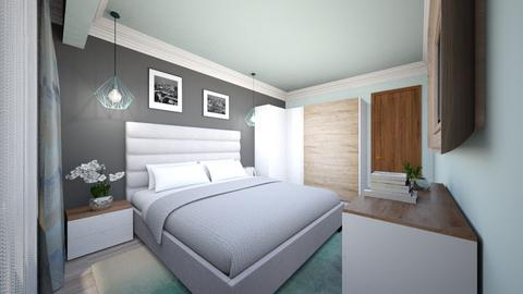 NYC BEDROOM - Modern - Bedroom - by Bianca Interior Design