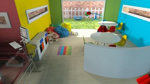 children waiting room - Modern - by lizziemayh