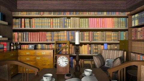 Sherlock - Classic - Office - by Ivana J