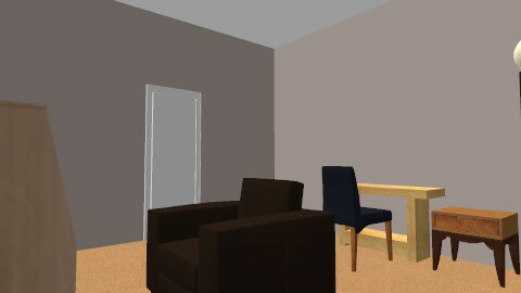 study room 4 by 4.5 - Minimal - Office - by montycristo