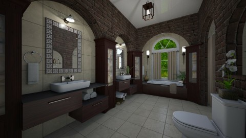 Virtual bath - Classic - Bathroom - by Lackew