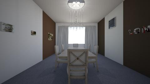 Esszimmer - Dining room - by Ropertz Raumdesign