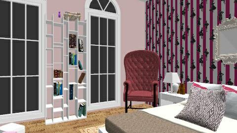 Simple Bedroom For Sketch Bedroom By Roxannexoxo