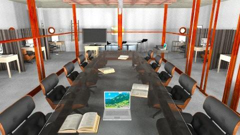 Board room - Modern - Office - by pie2296