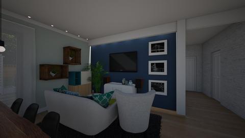 Salonkkkk - Living room - by Vabrax
