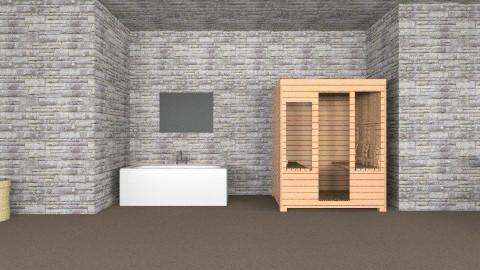 test - Modern - Bathroom - by mirka04