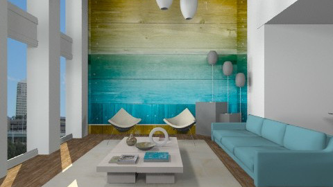 Beach Breeze Seaside Life - Modern - Living room - by cara_98