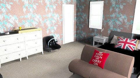 Teen Parents bedroom - Modern - Bedroom - by paige0806