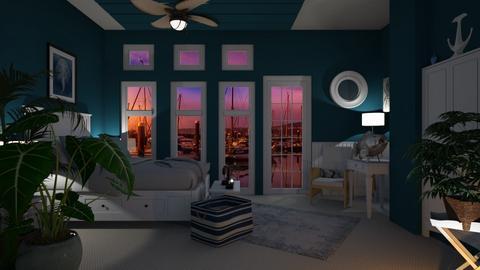 Nautical Bedroom - Bedroom - by Sue Bonstra