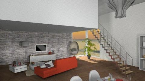 Sunset living room  - Living room - by ynes6
