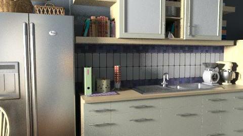 Villa Pamphilj kitchen - Rustic - Kitchen - by limina88