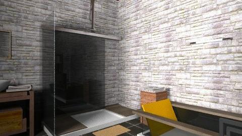 saladeban5 - Rustic - Bathroom - by izarochaa