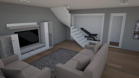 Basement Design  - by BARE Design Studio