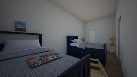 boy twinz room - Kids room - by hime123