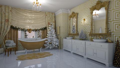Christmas Bathroom - Bathroom - by creato