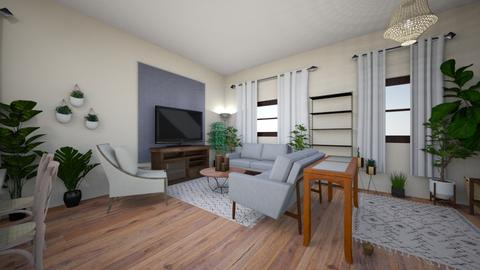 Living Dining Opt1 - Living room - by MaicaAndreaStyles