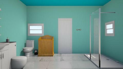 Ocean bath - Bathroom - by goyominero3443