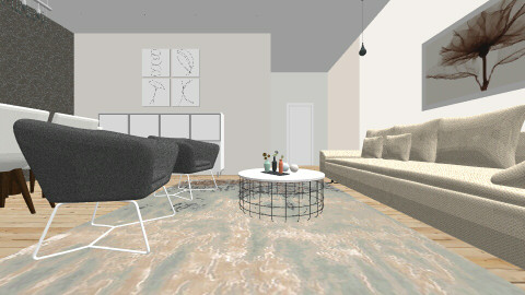 Simple - Eclectic - Living room - by VaidaBirgiolaite