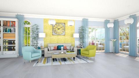 summer - Living room - by teffy
