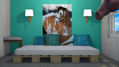 My dream horse room - Bedroom - by Taxi girl