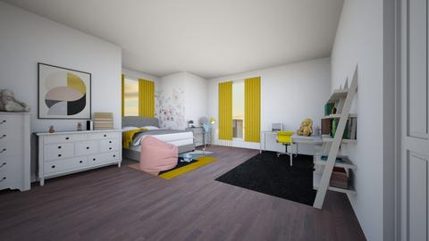 sky - Bedroom - by snazzysnail