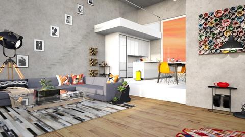 expat - Living room - by Valerie Meiner