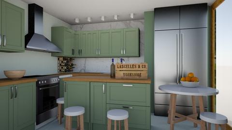 modern - Modern - Kitchen - by Nneka Nnabuogor