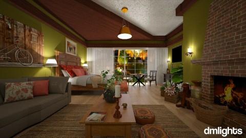 Ro DmL - Bedroom - by Roberta Bela