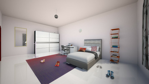 College Project - Bedroom - by Rayssa_Nunes