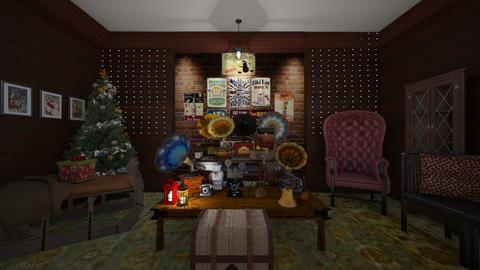 Christmas in antique shop - by nevenadesko