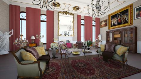 Victorian Times - Classic - Living room - by DeborahArmelin