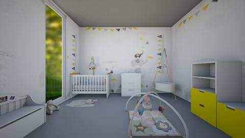 Jackson  - Kids room - by Laura Drouhard
