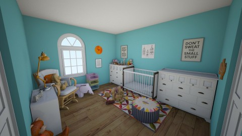 Eclectic Nursery - Eclectic - Kids room - by hwoodward1