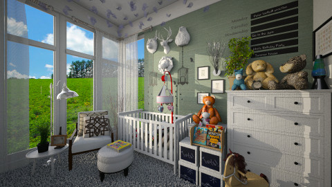 BabyRoom - Kids room - by atiyahanisah