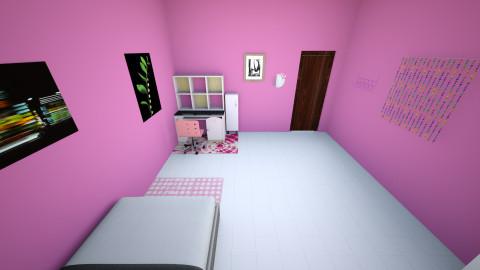 kamar kakak - Modern - Bedroom - by shafira01