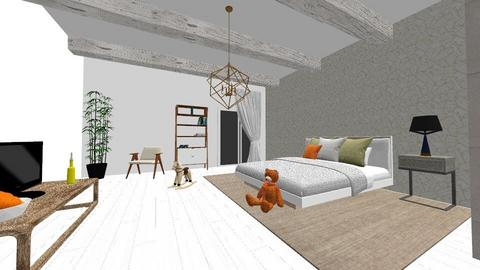 chambre 2 - Bedroom - by eliotte